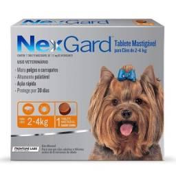 Antipulgas e Carrapatos NexGard para Cães A Partir de R$68,50