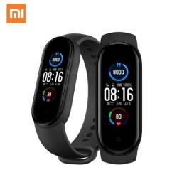 Smartwatch Pulseira Inteligente Xiaomi Miband 5. Lacrado Original. Versão Global