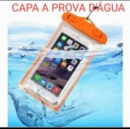 Título do anúncio: CAPA A PROVA D'ÁGUA PARA SMARTPHONE, CELULAR,PISCINA, RIO,PRAIA