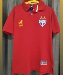 Título do anúncio: Camisa Gola Polo Fortaleza Vermelha 1918