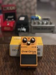 Pedal analógico BOSS Overdrive OD-3 p/ Guitarra