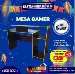 Mesa Office Gamer, 10x  de R$ 39,90, sem Juros!!
