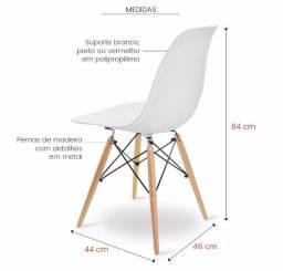 Cadeira Eames Eiffel branca - Catálogo completo via whats