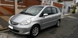 Honda fit ex 1.5 automatico top de linha impecável - 2007
