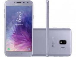 Smartphone Samsung Galaxy J4 32GB Prata - Dual Chip 4G Câm. 13MP + Selfie 5MP Flash Prata
