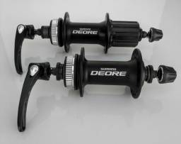 Cubos Shimano Deore + Rotores
