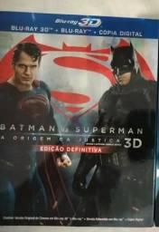 Blu Ray Batman Vs. Superman (3 discos)