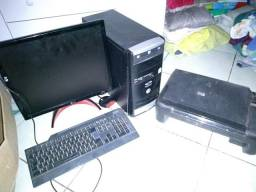 CPU : 50,00 monitor +teclado 50,00 impressora HP 50,00