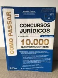 Como passar em concursos jurídicos 10.000 questões comentadas