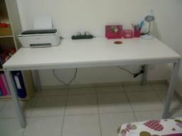 Mesa para escritório branca