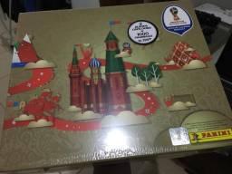 Kit álbum de figurinha da Copa 2018 - Rússia