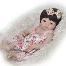 Bebê Reborn menina pode dar banho entrego grátis