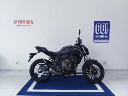 Entrada R$ 11.250 + 48x 759 Yamaha MT 07 Abs 19/20 Imperdível!! - 2019