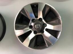 Rodas Aro 17 Toyota Hilux Original SRV Graphite Diamond
