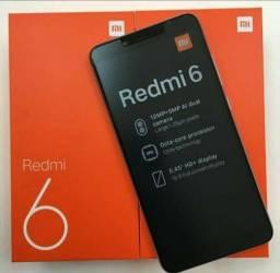 Redmi 6 64 GB 3 de Ram Original NOVO NA CAIXA LACRADO