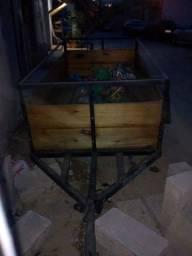 Carretinha pra 500kg 1300 reais