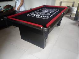 Mesa de Bilhar Encanto Preta Tx Personalizada Modelo PSS1054