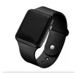 Relógio De Pulso Digital Led Masculino Preto