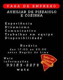 Ajudante de pizzaiolo