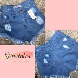 Roupas Lindas- Short Jeans tam 40 -R$55,00 * Novo