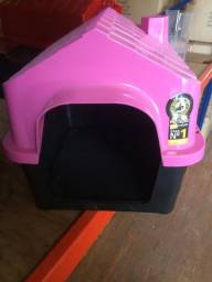 Casinha plástica para cães