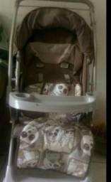 Pra hoje carrinho bebê
