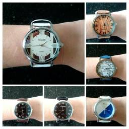 2 relógios femininos analógico