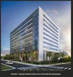 Sala Comercial Doc Castelo do Batel - 36m² - 9º Andar - Ala Office - Novo