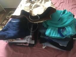 Combo de roupas femininas