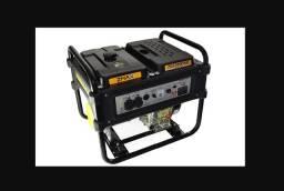 Gerador Diesel ZG6300DME 10 HP Mono.110V/220V ? ZMAX 10x s/ juros