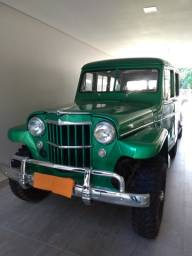 Rural 1956 Jeep Station Wagon