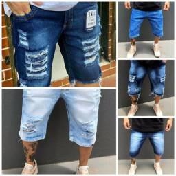 Bermudas jeans no atacado é varejo