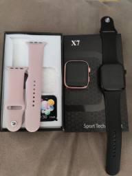 Smartwach X7 Relógio Faz Recebe Ligações, Controla as Música do Seu Celular, Ios Android