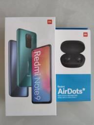 Maravilhoso// Redmi Note 9 128 da Xiaomi // Lacrado // Garantia e entrega