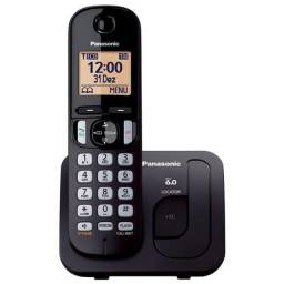 Telefone sem fio Panasonic KX-TGC210LBB preto