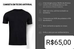 Camiseta antivíral