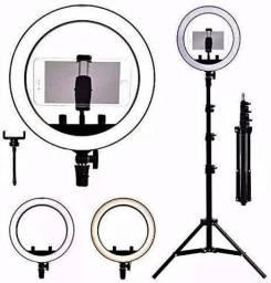 Luz de Selfie Grande 26cm-(Lojas Wiki)