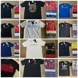 Título do anúncio: Camisa Masculino PROMOÇÃO 10 PECAS 380$ LINHA PREMIUM
