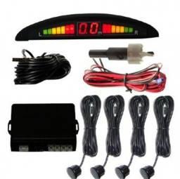 Sensor de Estacionamento (Ré) 4 Sensores e Display LED. Super Promoção!!!