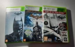 Trilogia Batman: Arkham (Arkham Asylum, Arkham City e Arkham Origins)