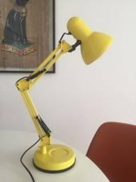 Luminária Tok&Stok Dobrável com Lâmpada