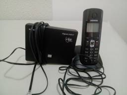 Telefone Voip Sem Fio Siemens Gigaset A580 Ip - Híbrido