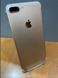 Título do anúncio: iPhone 7 Plus 128gb Gold V/T (preferência por trocas)