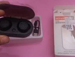 Y50 Fone De Ouvido Bluetooth 5.0 Tws2 Mini Portátil Com Fone Sem Fio Bluetooth