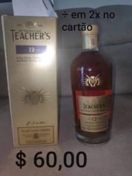 Whisky Teacher's Highland Cream Escocês 1 Litro<br><br><br>
