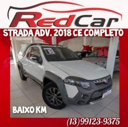 Título do anúncio: Fiat strada ADV. Locker 2018 top de linha!
