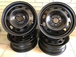 Jogo de roda de ferro VW-Original e Novas
