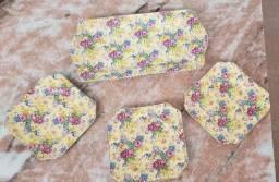 Antigo conjunto para sobremesa em Porcelana Imperial Ironstone Ware Anos 50/60
