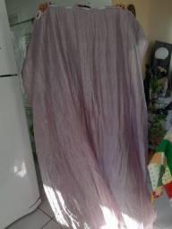 Cortina curta lilás