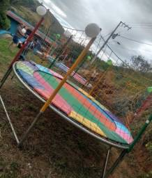 Título do anúncio: Aluguel de pula pula grande a partir de 100 reais